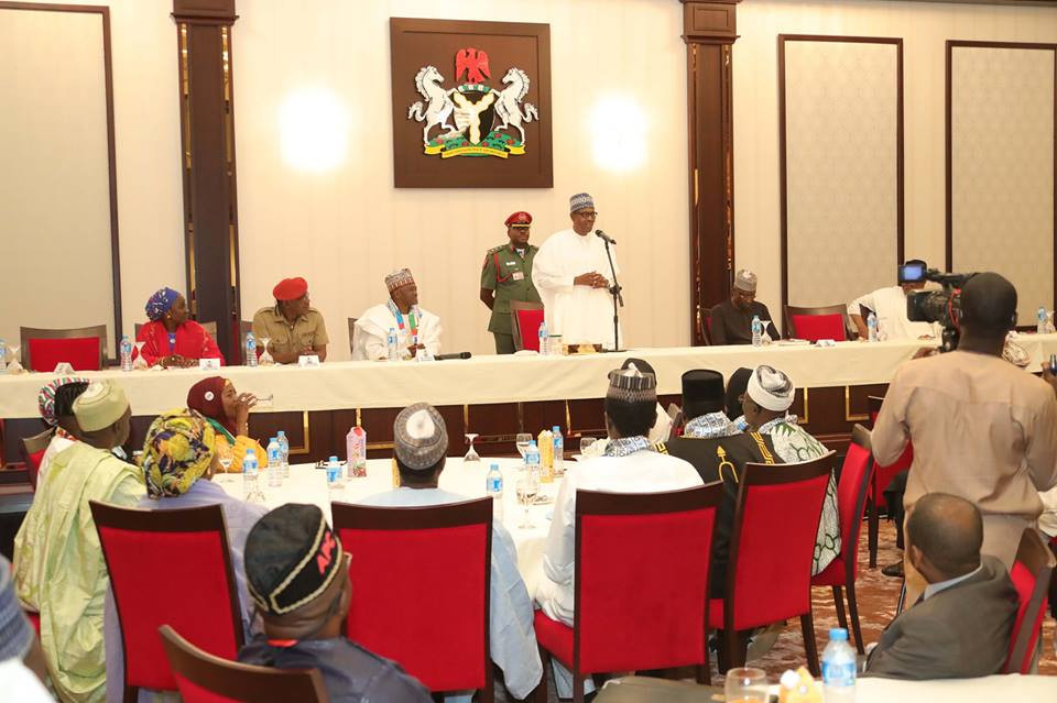 Only God will punish PDP for looting Nigeria - President Buhari