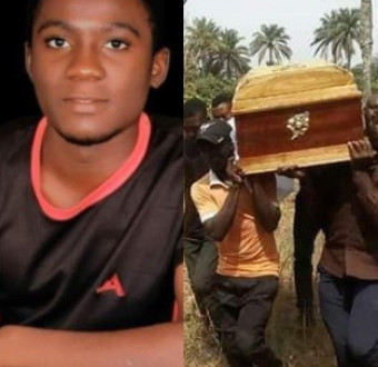 Photos: 19-year-old Kogi state University student killed in election violence has been laid to rest, Photos: 19-year-old Kogi state University student killed in election violence has been laid to rest