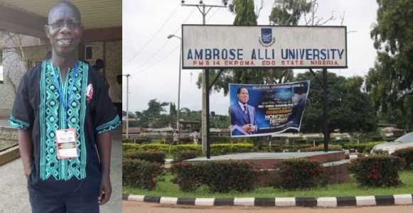 Photo of ASUU chairman caught in sex-for-marks scandal