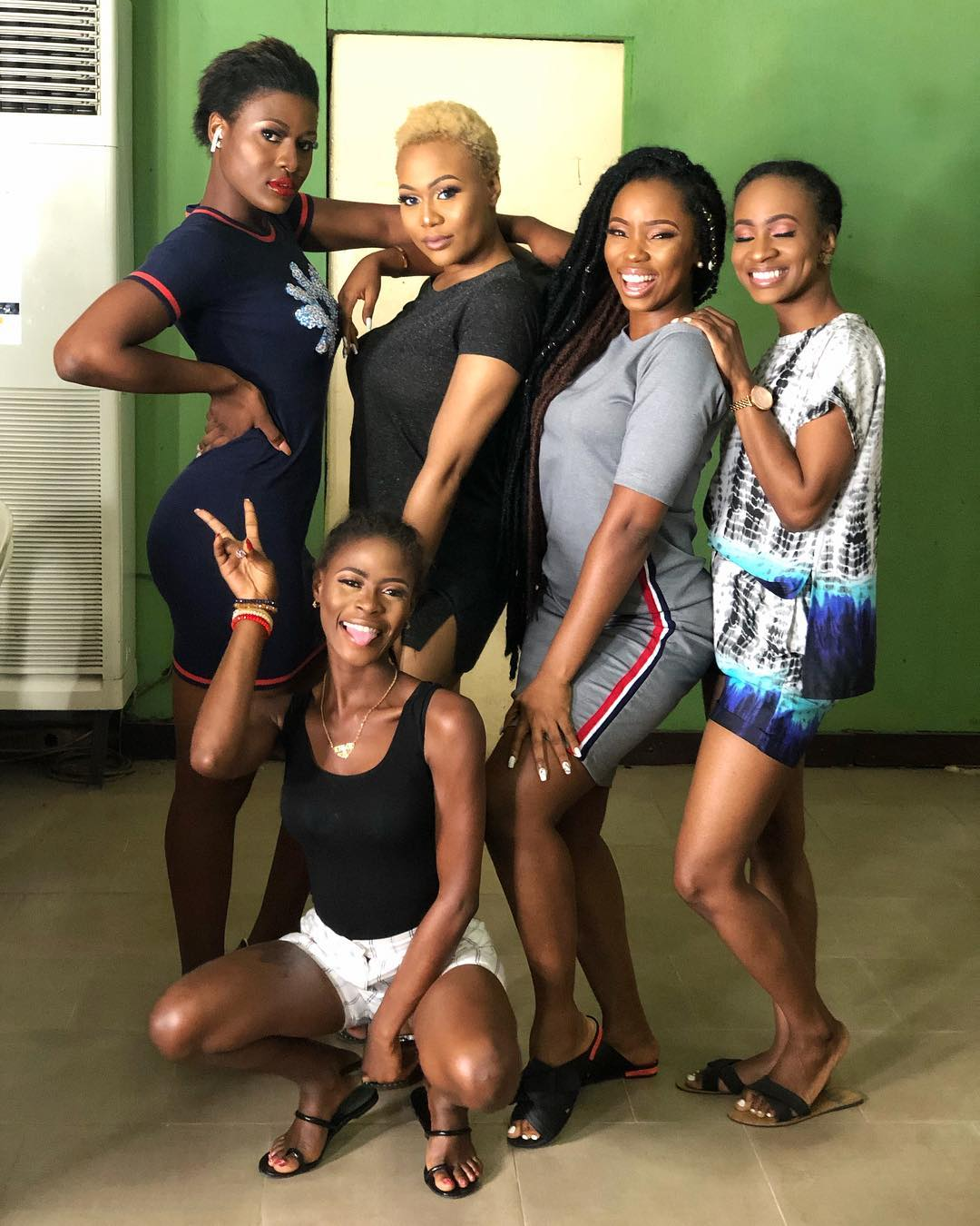 BamBam, Alex, Vandora, Anto And Khloe slay in new photo.