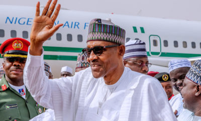 I am back to Daura... If I don't win the election, I will stay at Home - Buhari (Watch Video)