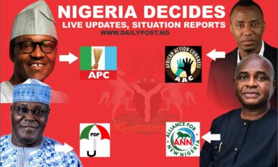Nigeria Decides: Live 2019 presidential election results from Zonal Collation Centres