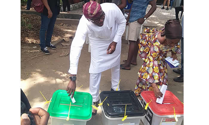 Photo of Breaking: PDP wins at Sanwo-Olu's polling unit