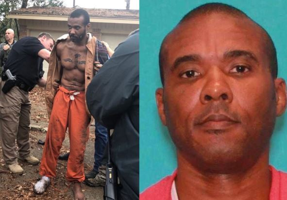 Texas police re-arrest MMA fighter, Texas police re-arrest MMA fighter who is facing murder charges just 9-hours after he escaped from custody