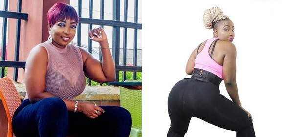 Anita Joseph, Nollywood curvy actress, Anita Joseph flaunts massive hips on the internet – See Photos