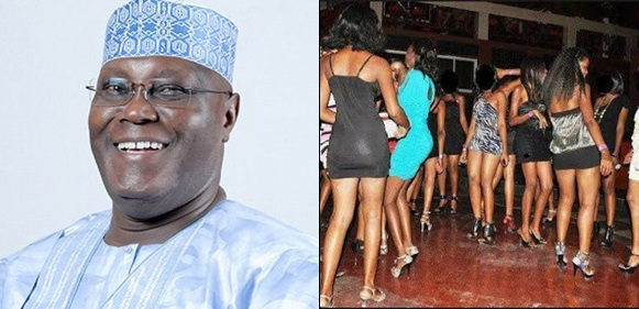 prostitutes storm Abuja in support of Atiku Abubakar, 10,000 prostitutes storm Abuja in support of Atiku Abubakar, to declare free sex