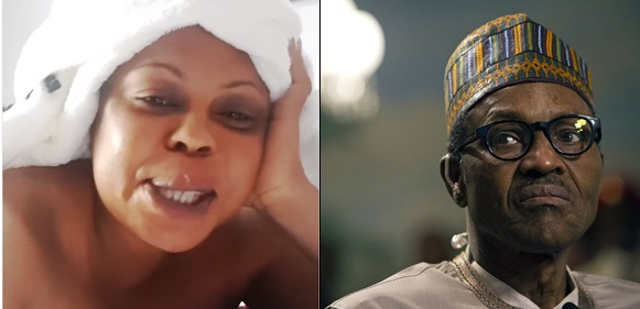 Dear Nigerians,Buhari looks sick, don't vote for him, save his life – Ghanaian comedienne Afia Schwarzenegger
