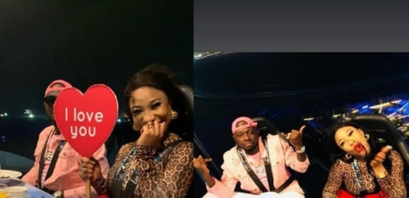 Photo of I Love You' – Tonto Dikeh Flaunts Lover As She Goes On A Romantic Dinner With Him(Photos)