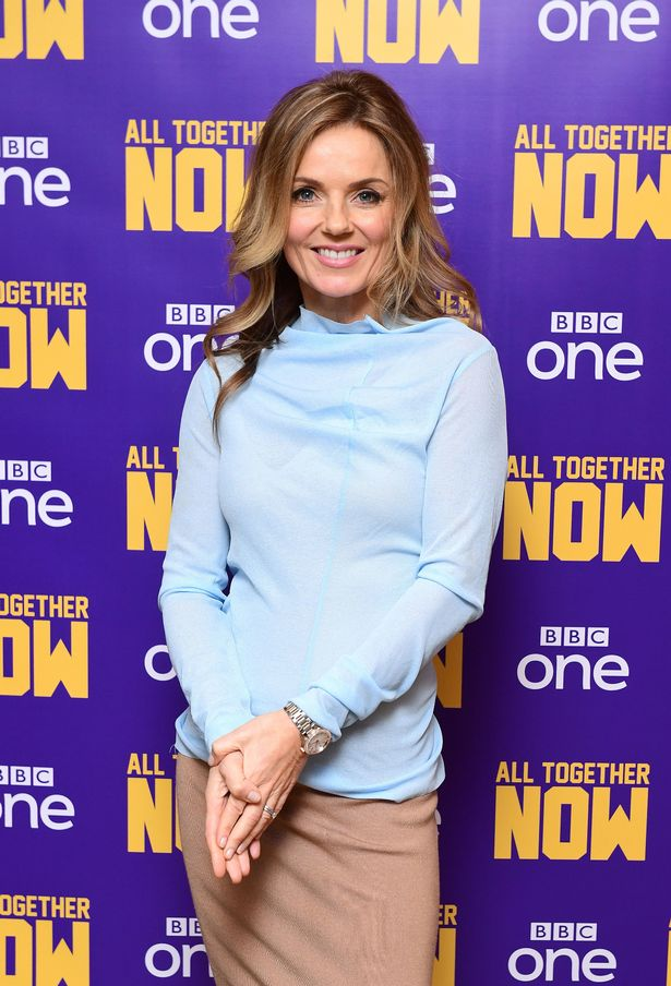 , Geri Horner 'to deny lesbian sexx with Mel B' who 'made it up to sell book'