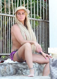 Katie Price risked arrest by going topless in Thailand AGAIN