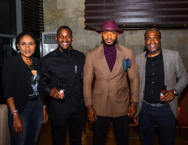 , Tobi and Cee-c spotted at a party after the explosive BBNaija reunion episode (Photos)