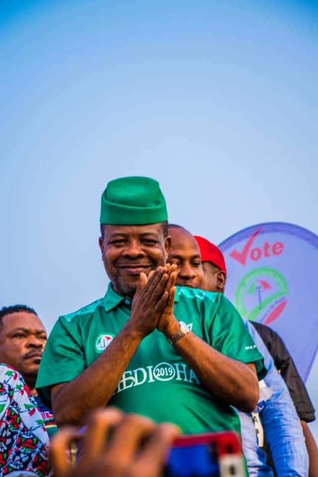 , Imo Governorship Election Update: PDP's Emeka Ihedioha wins polls