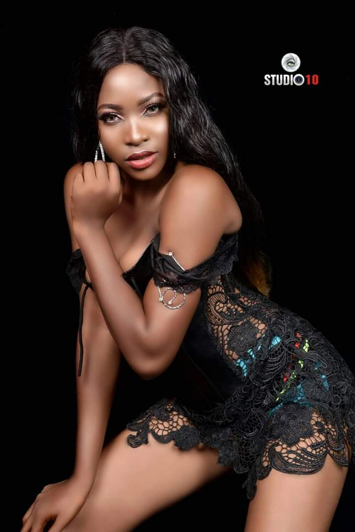 , Miss Nollywood Beauty Queen pantless photoshoot spike the internet (Photos)