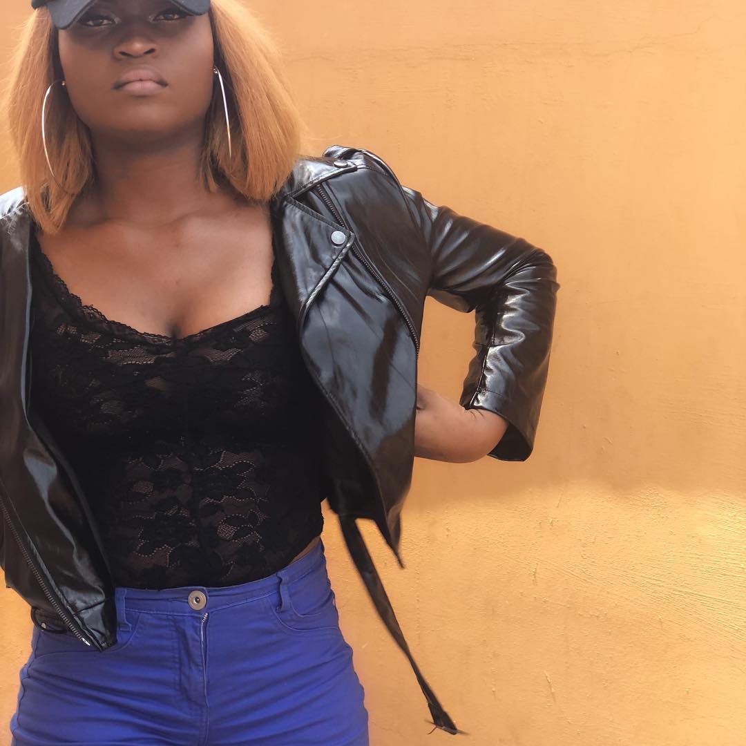 Nigerian Beauty Queen Freda Fred slays in new photos as she flaunts cleavage