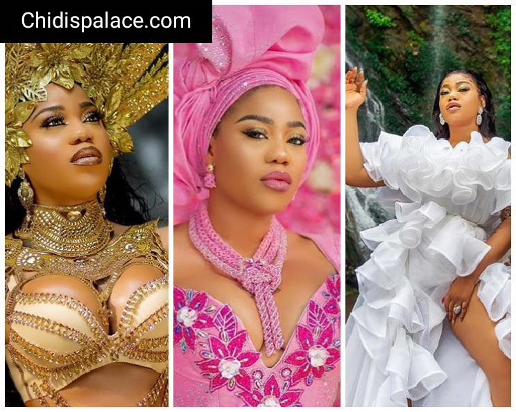 Photo of Toyin Lawani dishes more raunchy birthday photos