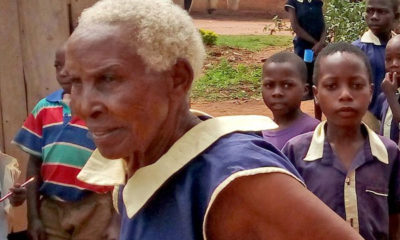 80-year-old Ugandan woman enrolls for Primary One, aims to become a teacher (Photo)