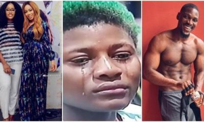 Cee-C and Nina enjoy a good laugh on Twitter after Alex and Tobi's sexcapade was revealed