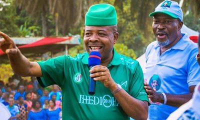 What Nollywood veteran actor Kanayo O. Kanayo after INEC declared Ihedioha winner Imo guber (Screenshot)