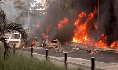 Akwa Ibom Governorship Elections: Explosion rocks INEC office in Nkpat-Enin