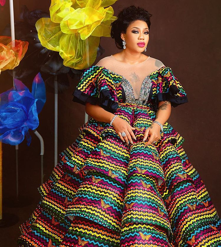 Toyin Lawani dishes more raunchy birthday photos