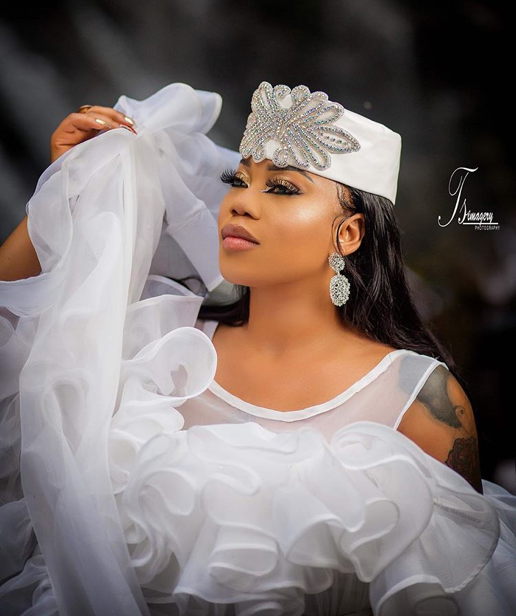 Toyin Lawani photos, Toyin Lawani dishes more raunchy birthday photos