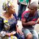 Video: ''You Igbos, we don't trust you anymore'' Oluremi Tinubu jokingly tells voter at her polling unit