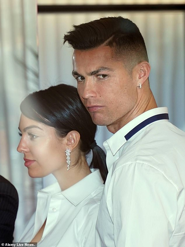 , Cristiano Ronaldo's girlfriend Georgina Rodriguez reveals they 'fell in love at first sight'