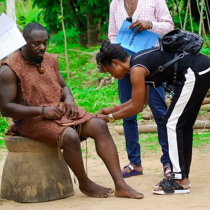 Nollywood sensation actor, Jim Iyke stars in new movie (Photos)