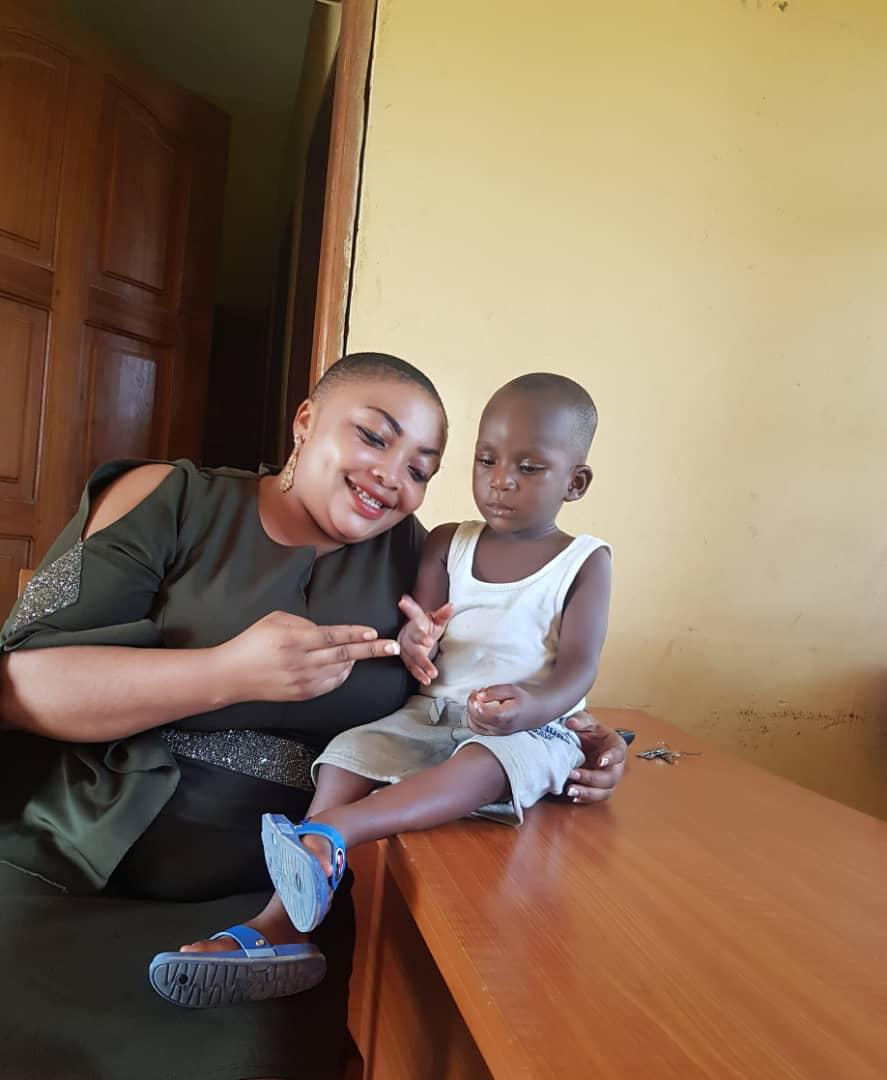 Boy labeled as Witchcraft in Akwa Ibom Transformed by Lady who Rescued him [VIDEO]