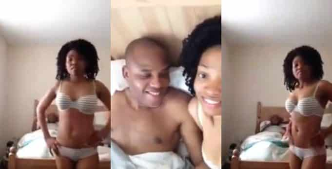 IPOB members react to leaked video of Nnamdi Kanu in bed with wife