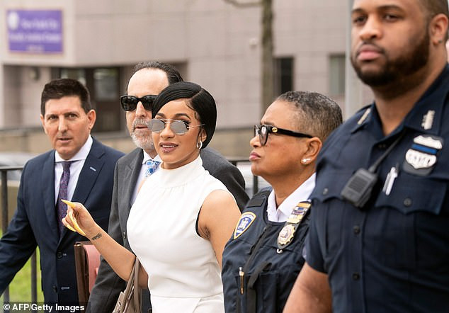 , Cardi B arrives in court in ,000 outfit as she rejects plea deal in strip club assault case