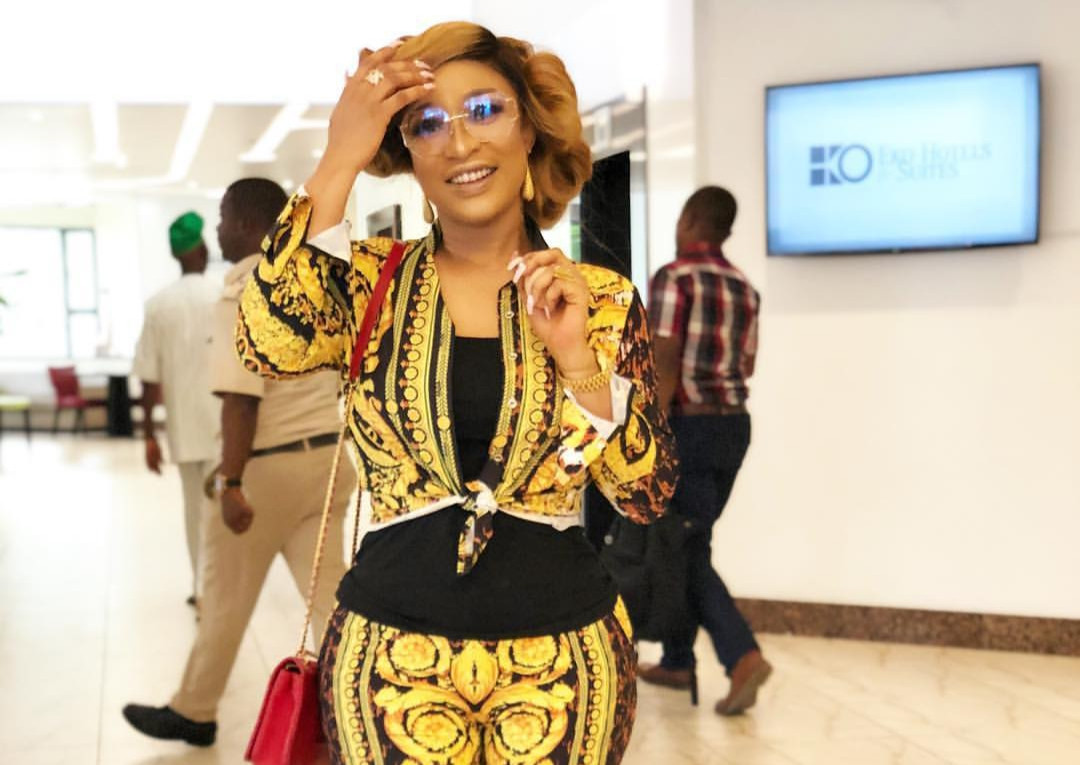 Photo of Tonto Dikeh reacts to the allegation she illegally sold her ex-hubby Olakunle Churchill's N22 million Toyota Prado SUV