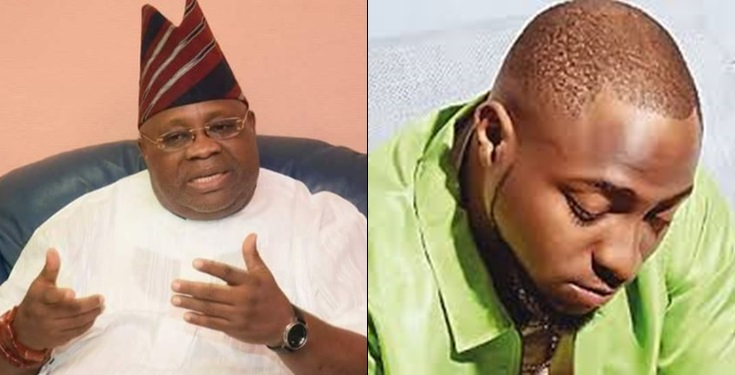 , Davido reacts to court's nullification of his uncle Senator Ademola Adeleke