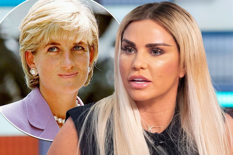Photo of Katie Price morbidly predicts she will DIE in a car crash like Princess Diana