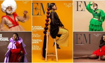 Big Brother Naija star Alex Unusual Covers Exquisite Magazine's Latest Issue (Photos)