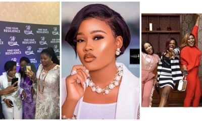BBNaija Ex-housemates, Others storm Cee-c's sport wear launch in style (Photos)