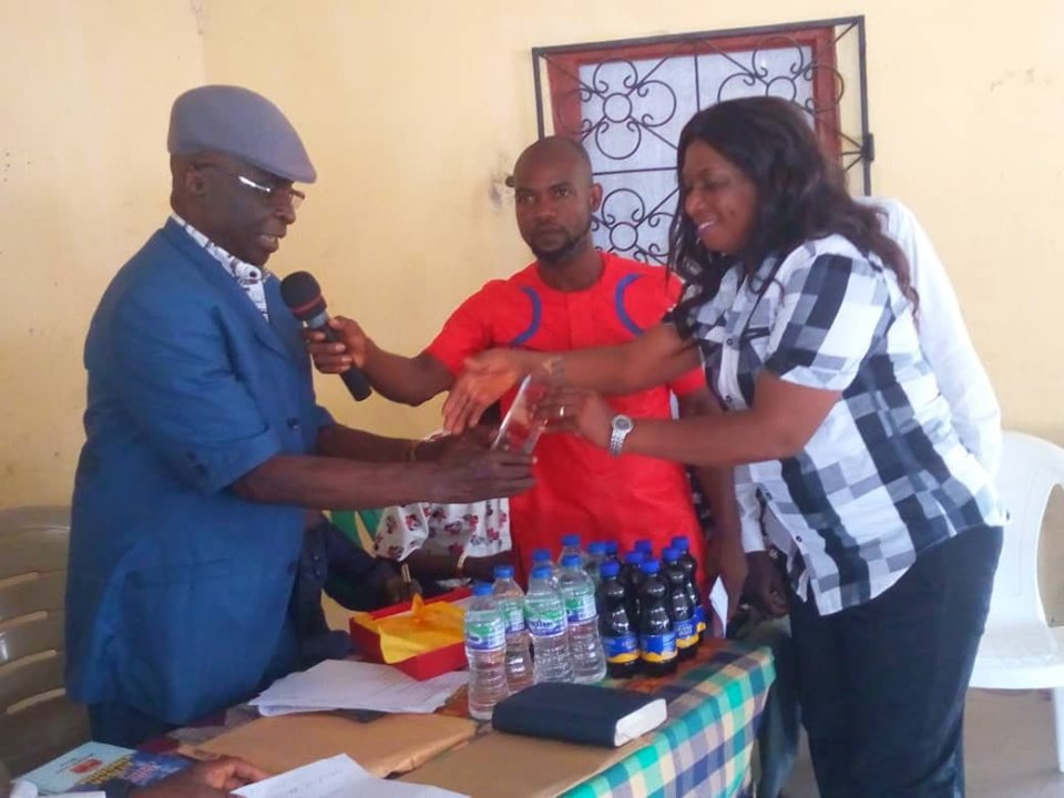 Juliet Pulu Zifawei, Famgbe Youth Assembly Honour Mrs Juliet Pulu Zifawei with Award of Appreciation