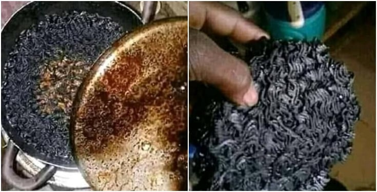 Girlfriend Burnt Noodles Because Of Zee World, Man Laments After Girlfriend Burnt Noodles Because Of Zee World