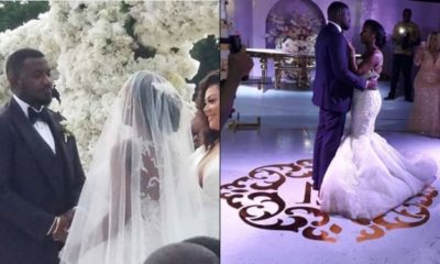 Photos from Ghanaian Actor, John Dumelo's white wedding
