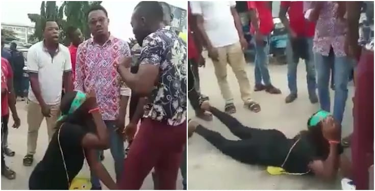 Man rejects marriage proposal from his Warri girlfriend, Man rejects marriage proposal from his Warri girlfriend (Watch Video)