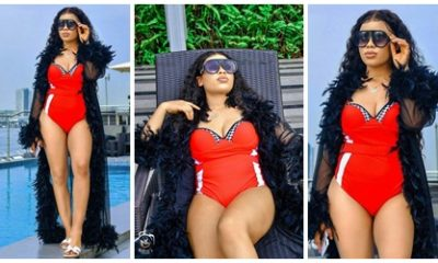 , Big Brother Naija Alex goes braless in new photos, read what she wrote