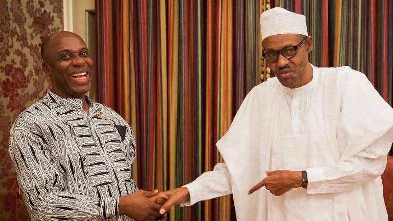 ''Thank you for not converting me to Islam'' - Amaechi tells Buhari