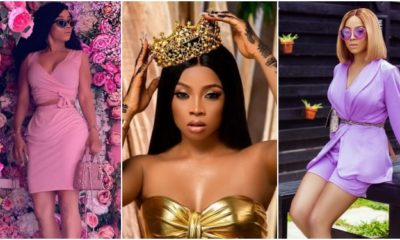 God used my friend to remind me of who I am -Toke Makinwa