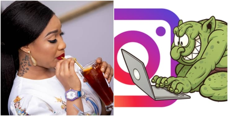 Tonto Dikeh, Tonto Dikeh Gives N50k To Instagram Troll Who Insults Her Always