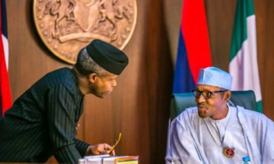 President Buhari dragged to court for refusing to handover to Osinbajo