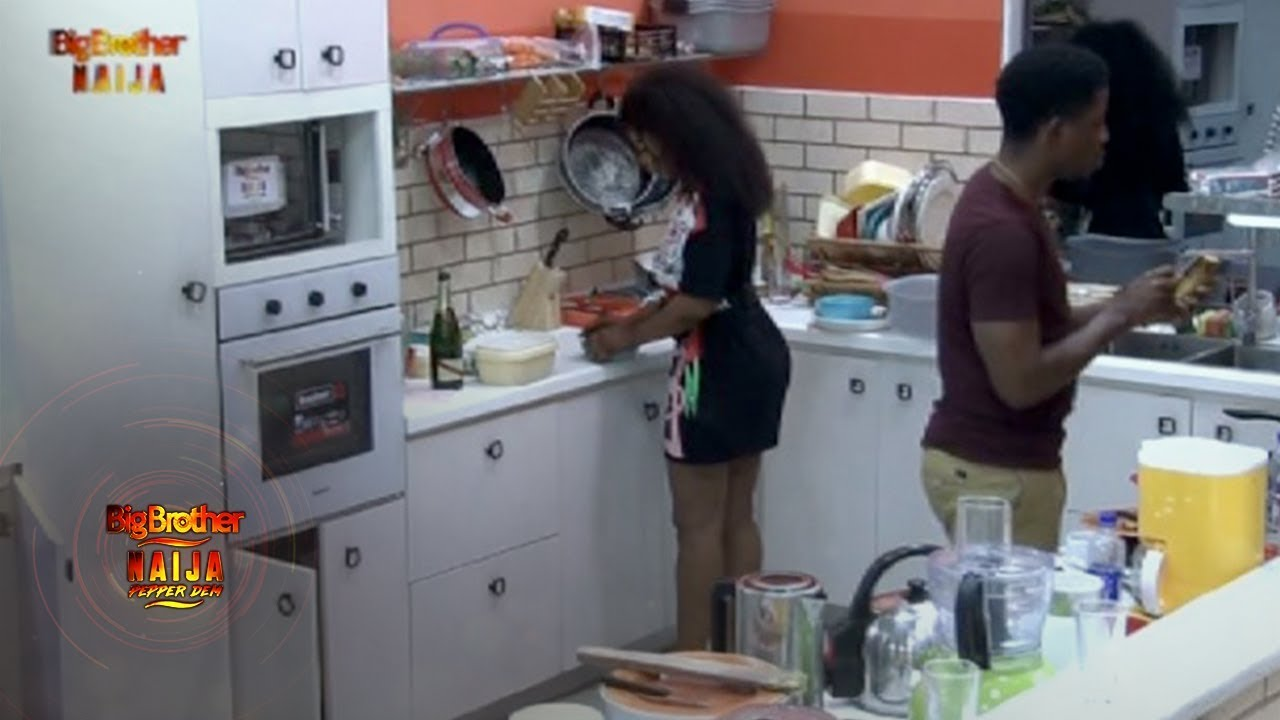 BBNaija 2019 Day 72, BBNaija 2019 Day 72: See What Happened When Tacha And Seyi Find themselves in same ship