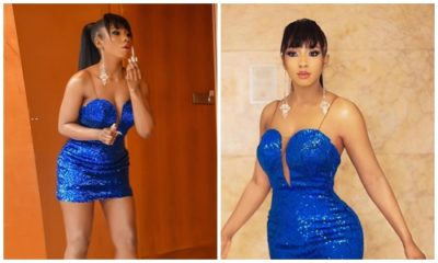 #BBNaija: Mercy blows hot in new photos as goes partying