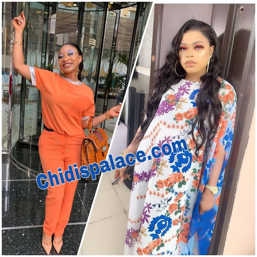 Photo of Tonto Dikeh exposes Bobrisky after threatened to block him on IG