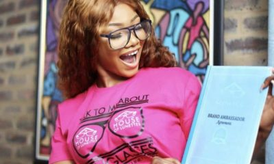 BBNaija: Tacha Signs Endorsement Deal With House Of Lunettes (See Photos)