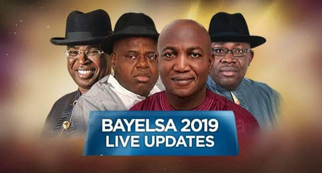 Photo of Live Result From Bayelsa Governorship Election by INEC